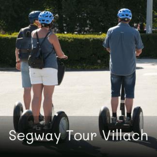 Segway Tour Villach - Rollertours Geschenkgutschein